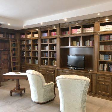 libreria classica legno
