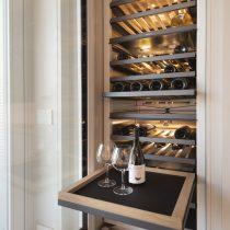 Cucina con cantina vini