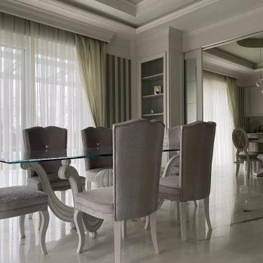tavolo sala da pranzo di lusso
