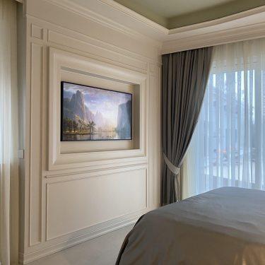 camera da letto artigianale